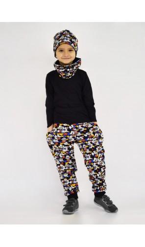 Chlapecká zimní vyteplená čepice Mickey Mouse