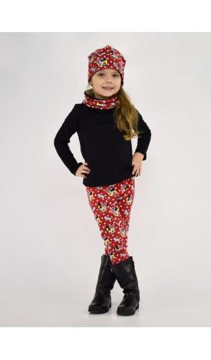 Dívčí vyteplená čepice Minnie