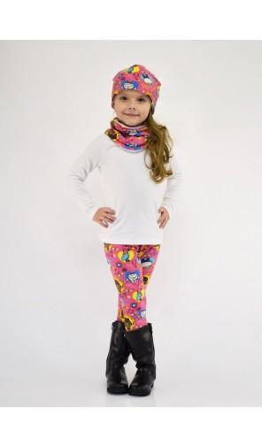 Dívčí zimní vyteplená čepice Doktorka Plyšáková