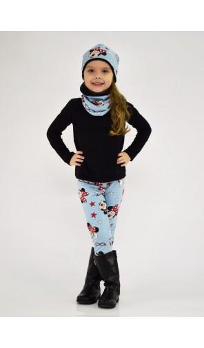 Dívčí zimní vyteplená čepice Minnie 2