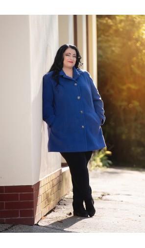 Dámský kabát pro atypické postavy