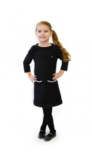 Dívčí šaty s perličkami