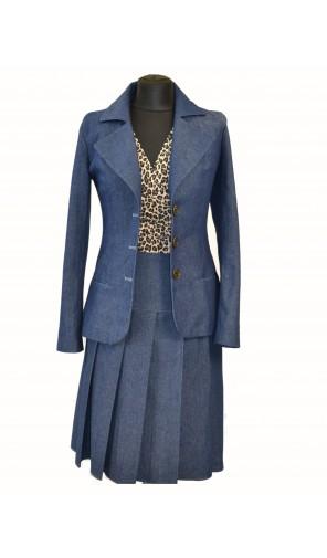Dámské ležerní sako s velkými klopami