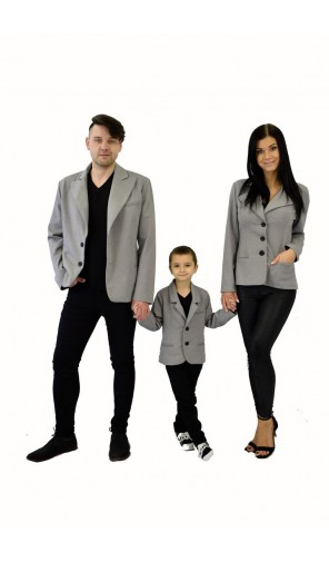 Pánské šedé sako