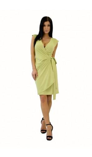 Dámské zavinovací řasené šaty