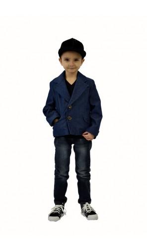 Chlapecké sako džínové