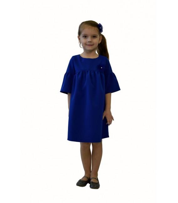 Dívčí šaty s tříčtvrtečním rukávem