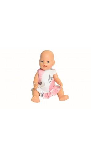 Květinově šaty pro Baby Born a Chou Chou