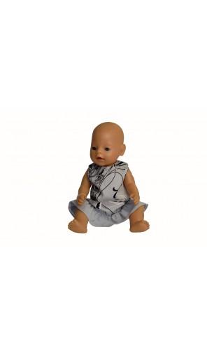 Šaty s volánem pro Baby Born a Chou Chou