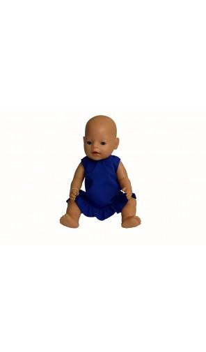 Modré šaty pro Baby Born a Chou Chou