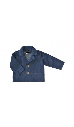 Chlapecké sako džínové batole