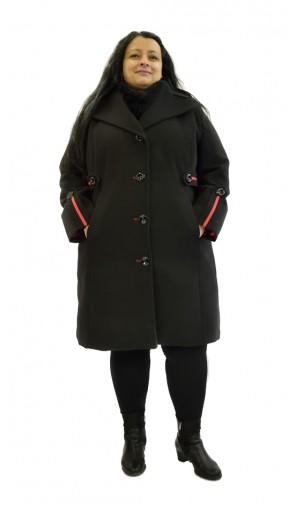 Dámský zimní kabát pro nadměrné velikosti