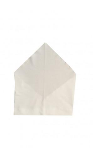 Letní bílý šátek