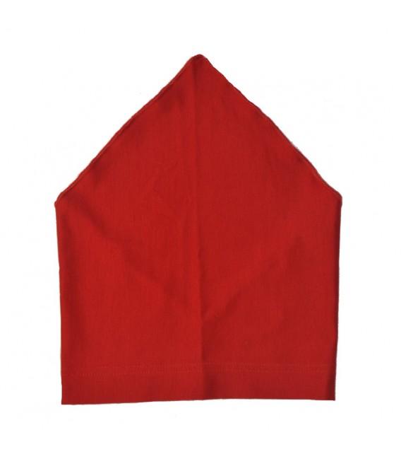 Letní červený šátek