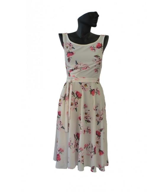 Dámské květinové šaty