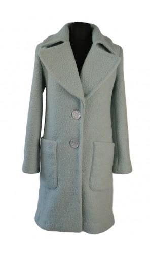 Dámský prodloužený kabát vlněný