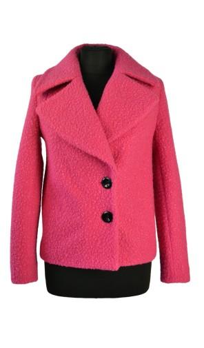 Dámský vlněný kabát do pasu Exclusive