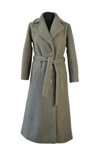 Dámský dlouhý vlněný kabát Exclusive