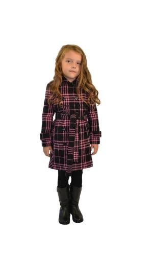 Dívčí lehký vlněný kabát Exclusive