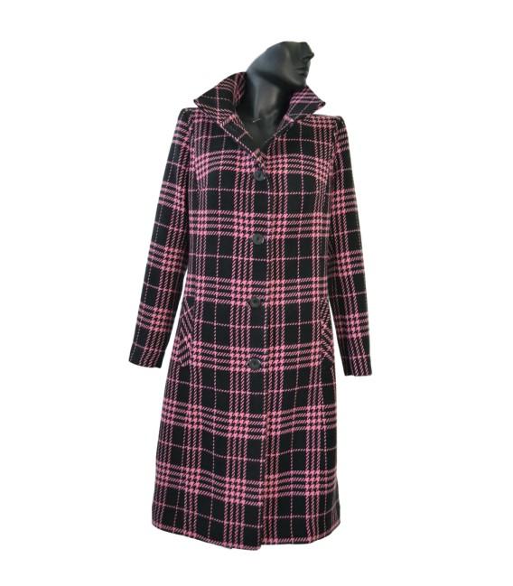 Dámský lehký vlněný kabát