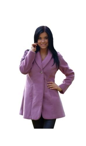 Dámský vlněný kabát s šálovým límcem Exclusive
