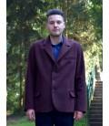 Pánský vlněný kabát sakový s fazonkou Exclusive