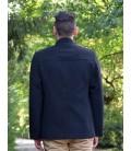 Pánský vlněný kabát se stojáčkem Exclusive