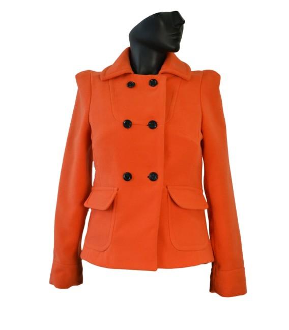 Dámský členěný kabát do pasu