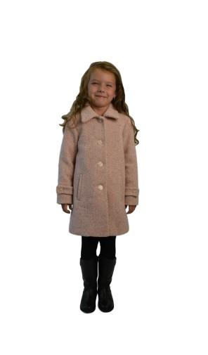 Dívčí romantický kabát