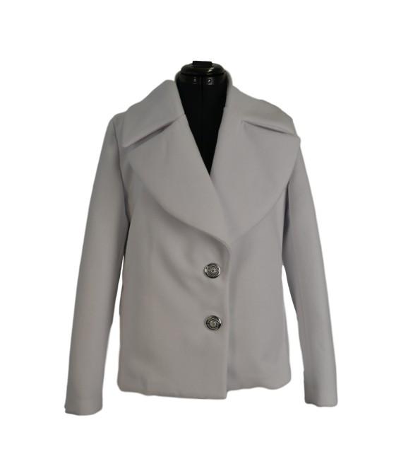 Dámský kabát do pasu