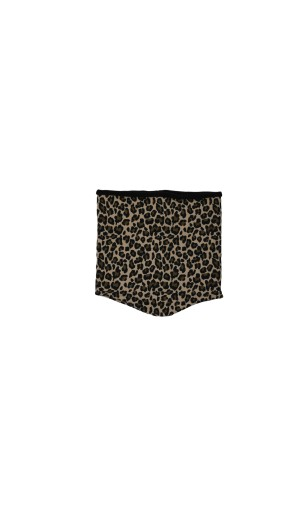 Vyteplený nákrčník Leopard