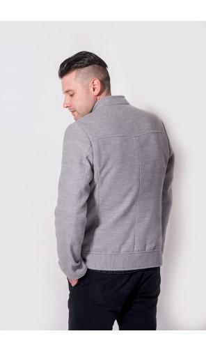 Pánská kabátová bunda se stojáčkem