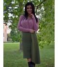 Dámská sukně s cípem