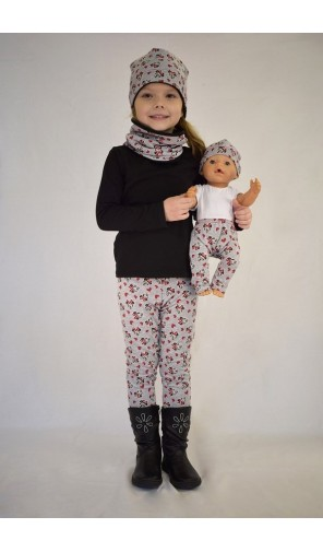 Dětské zimní legíny Minnie