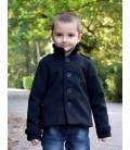 Chlapecký kabát s fazonkou