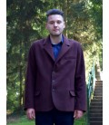 Pánský kabát sakový s fazonkou