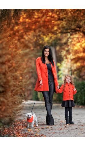 Dívčí kabátek se stojáčkem